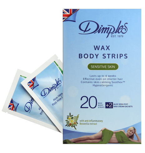 Wax Body Strips Dimples Depilatory